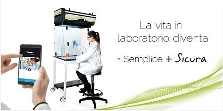 cappe chimiche da laboratorio