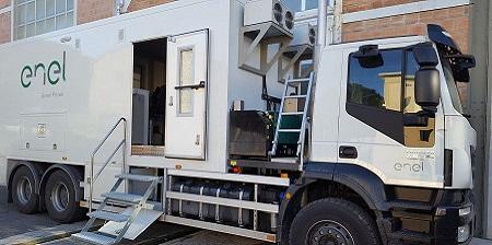 Il nuovo Laboratorio Mobile di Enel Green Power