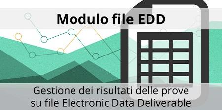 LabSystems Italia presenta il Modulo file EDD