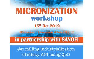 Micronisation workshop